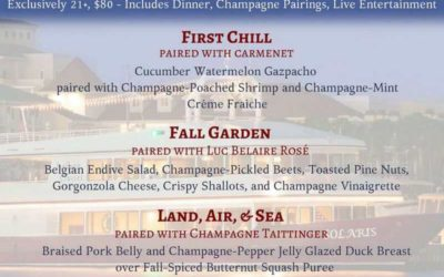 Top Things to Do in Destin in the Fall   Autumn Harvest Champagne Dinner Cruise