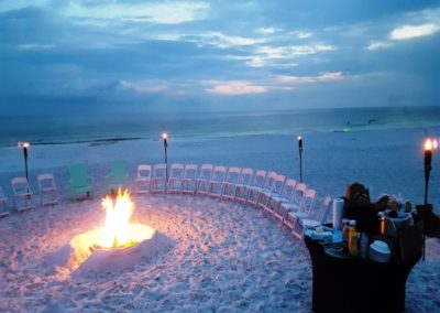 We can also help plan catered bonfires to celebrate the night before your wedding.