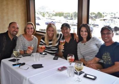 Family Reunions, Groups - all are welcome for a fun dinner cruise.