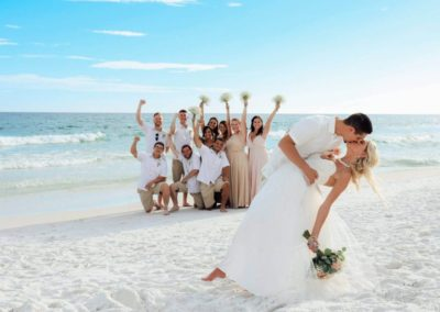 Romantic beachside nuptials planned by our wedding planners