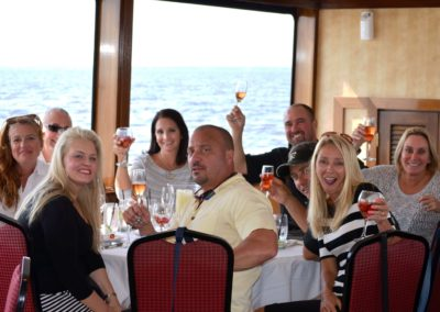 Celebrate special occasions on the water including family reunions, birthday parties, anniversaries,  and more.