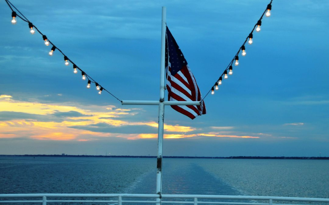 Thursday, July 4, 2019 |  4th of July Destin Fireworks Sunset Dinner Cruise
