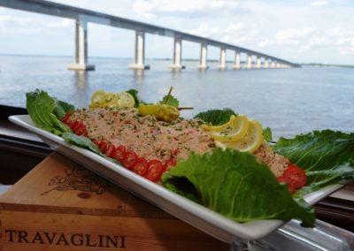 We use only the freshest local Gulf seafood.