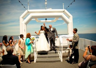 Love is in the air on the SOLARIS yacht.