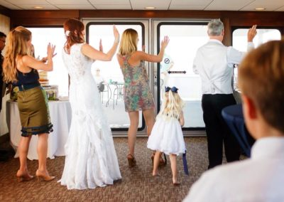 Dance your celebration away indoors and out.