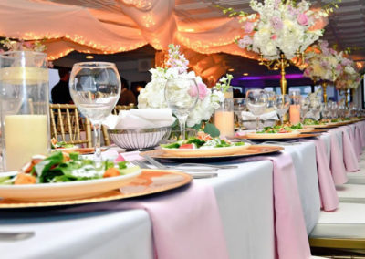 Nothing is more convenient or stress-free for you and your guests than hosting your wedding and reception at one venue.