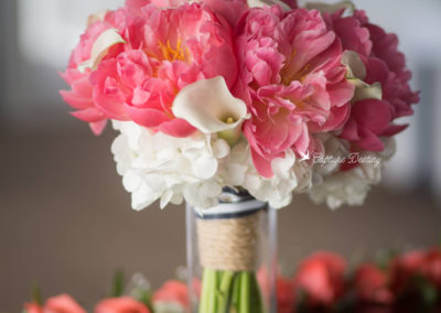Spring centerpieces and bouquets