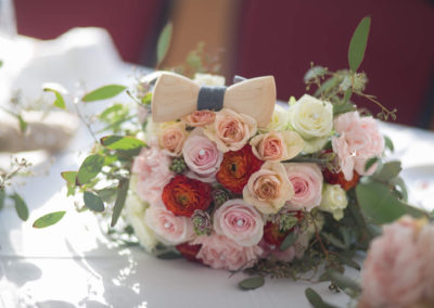 We work closely with each couple to express their creativity and themes in their wedding flowers.