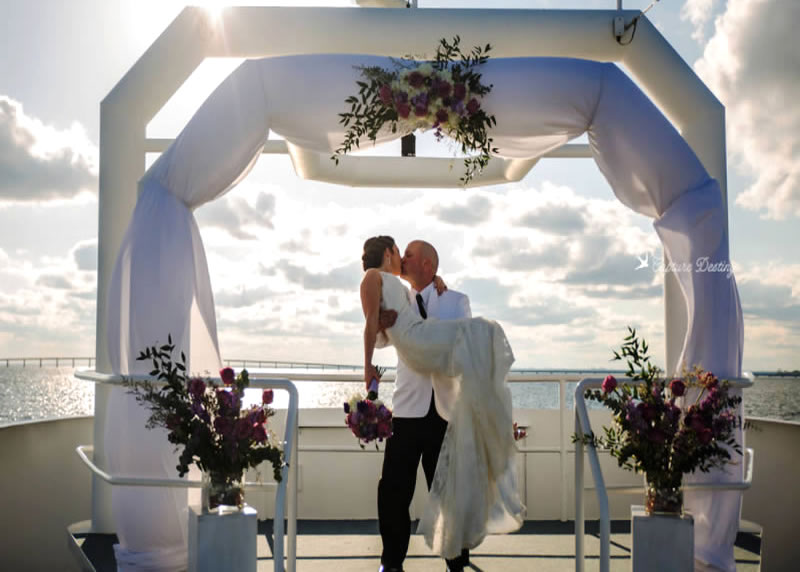 Destin Wedding Venues Packages Solaris Yacht Venue Sandestin