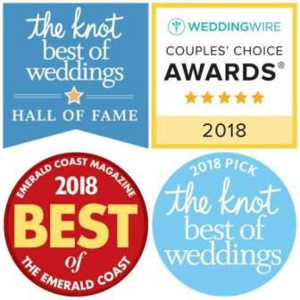 The SOLARIS wedding venue and its wedding planners have earned many testimonial-based awards for 9 consecutive years.
