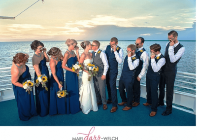 Nautical nuptials on the SOLARIS yacht are private, all-inclusive and stress free.