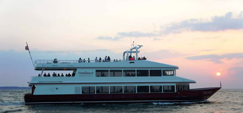 Sat, February 16, 2019 | Valentine's Destin Dinner and Sunset Cruise