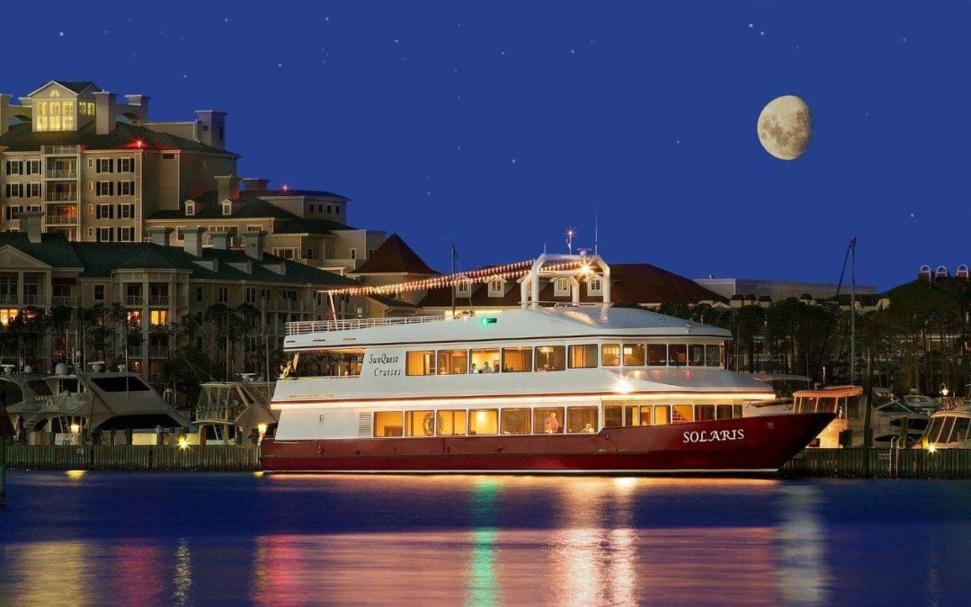 Friday, December 31, 2019 | New Year's Eve Destin Fireworks Dinner Cruise