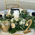destin wedding florist greenery mix colors
