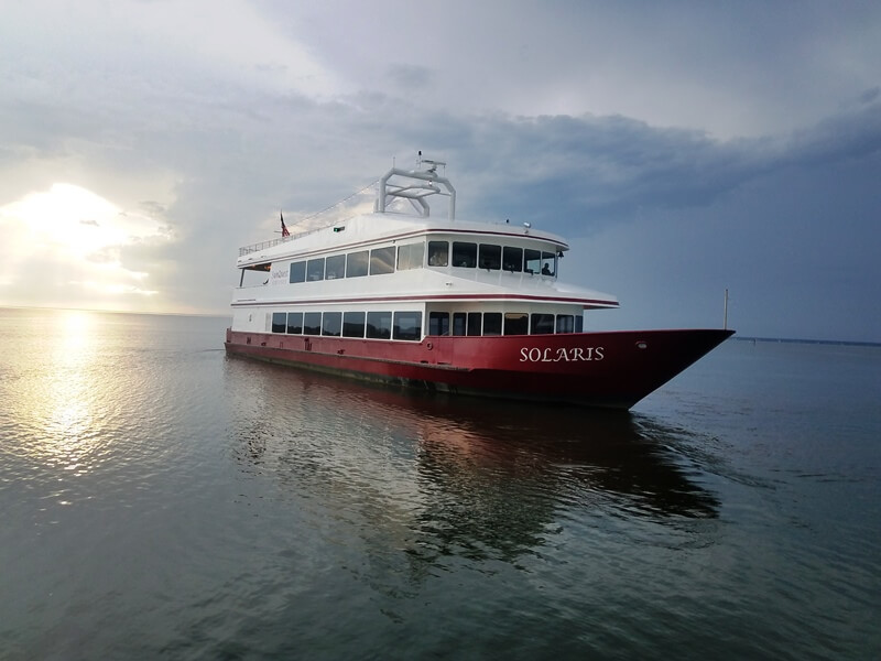 Father's Day in Destin Florida | SOLARIS Sunset Dinner Cruise June 2019